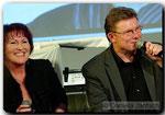 Angela Novotny und Henry Gross