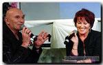 Peter Sebastian und Angela Novotny