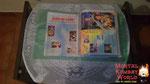Tenho todos os filmes e desenhos do Street Fighter, e até alguns VHSs do lendário Street Fighter Victory, isso sim que era desenho!