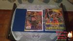 Esse é um álbum de figurinhas do Mortal Kombat 2 da Panini