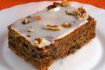 Walnuss-Möhren-Kuchen