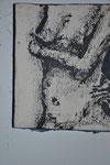 Aktserie, Acryl auf Leinwand, 25*15cm