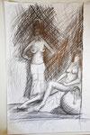 """""""oT"""", Bleistift auf Papier,  70*110cm"""