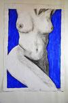 Din A2, Bleistift-Akryl