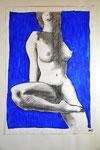 Din A2,Bleistift-Akryl
