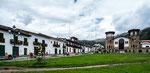 Der tolle Hauptplatz von Chacas....