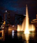 """Wasserspiele vor dem """"Bellagio"""""""