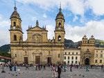 ….die Kathedrale - das Wahrzeichen Bogotas…..