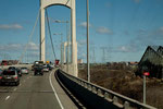 neue Brücke über den Saint Lorenz