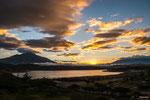 ....Sonnenuntergang wie aus dem Bilderbuch