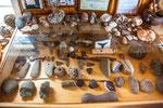 ...6.000 Jahre alte Steinwerkzeuge der indigenen Bevölkerung...