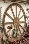 ...uralte Antriebstechnik - Holz und Eisen gepaart...