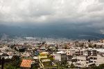 ....unser erster Blick auf Quito