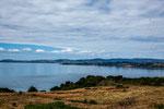 ...im Hintergrund liegt die Stadt Ancud...