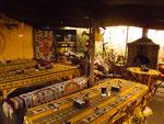 ...ein indigenes Restaurant...