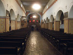 ...inside church