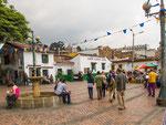 ….der Gründungsplatz von Bogota….