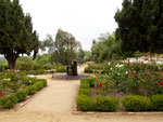 ...garden of the monastry...