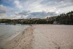 ....der einzige Süsswassersee der Anden mit einem weißen Sandstrand