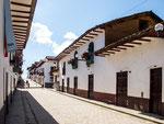 Die Innenstadt von Chachapoyas ist sehr kolonial....