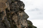 ....ein Inka-König; verewigt in der Felswand