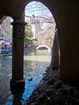San Antonio River in San Antonio