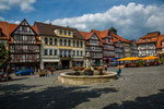 The center and market place of Allendorf....