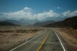 ....langsam kommt die Cordillera Negra näher.....