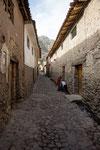 ...die Strassen stammen noch aus Inka-Zeit...