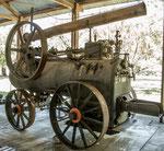 ...es gibt eine kleine Ausstellung von alten englischen Dampfmaschinen...
