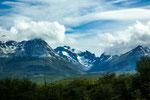 Ushuaia kann sogar Gletscher bieten...