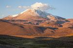 ...das ist keine Wolke sondern Vulkan-Asche...