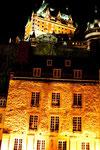 """das """"Hotel Fairmont Chateau Frontenac"""" scheint zu schweben"""