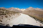 Hier führte auch die Rallye Dakar durch...
