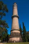 ...er wollte sogar seinen eigenen Leuchtturm - den höchsten - aber er durfte ihn nicht betreiben...