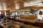 ...Museum Puente Quilo: hier ein Walfisch Gerippe...