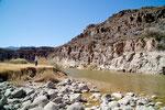 """leider blieb vom """"großen Fluss"""" nicht mehr viel übrig..."""