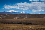 Die Fahrt Arequipa zum Titicacasee führt vorbei an 6.000ern...