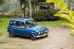 ....die R4 wurden in Kolumbien gebaut....