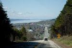 Quebec = Berg- und Talfahrt