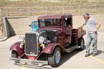 """kurioses Fahrzeug: Ford von 1932 mit neuestem """"Corvette"""" Motor und Chassis"""