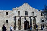 Fort und Mission Alamo - die Geburtsstätte von San Antonio