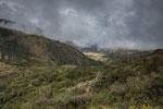 Fast schon mystische Landschaften auf 4.000 m Höhe....