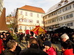 This Christmas market is the largest medivial market in Germany