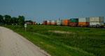 diese Züge sind kilometerlang - manchmal 3 große Dieselloks