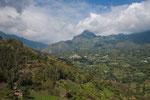 Das östliche Hinterland von Bogota ist wunderschön und wild.....