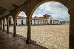 """….der Plaza Mayor"""" ist einer der größten von Südamerika….."""