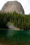 Mirror Lake auf ca.1.800 m Höhe - diesmal grün