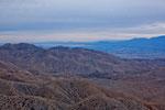 """Im Hintergrund der """"Salton Sea Lake"""""""