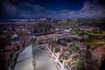 ...Panometer mit riesigem Rundgemälde (360°) des Künstlers Asisi...